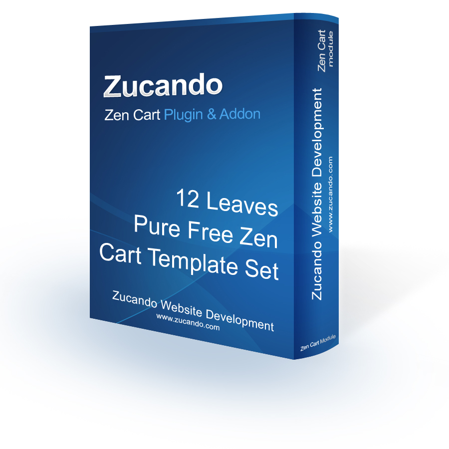 12leaves - Pure Free Zen Cart Template Set