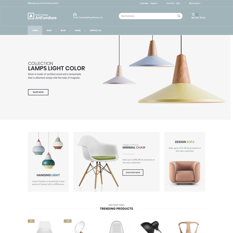 Artfurniture - Furniture Theme for WooCommerce WordPress