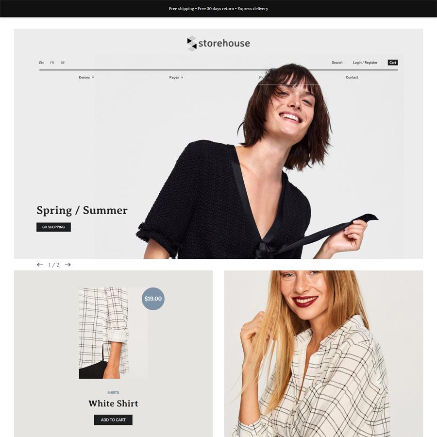 Storehouse & Fashion - WooCommerce Responsive Theme