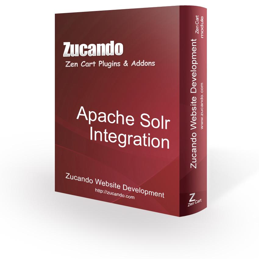 Zen Cart - Apache Solr Integration