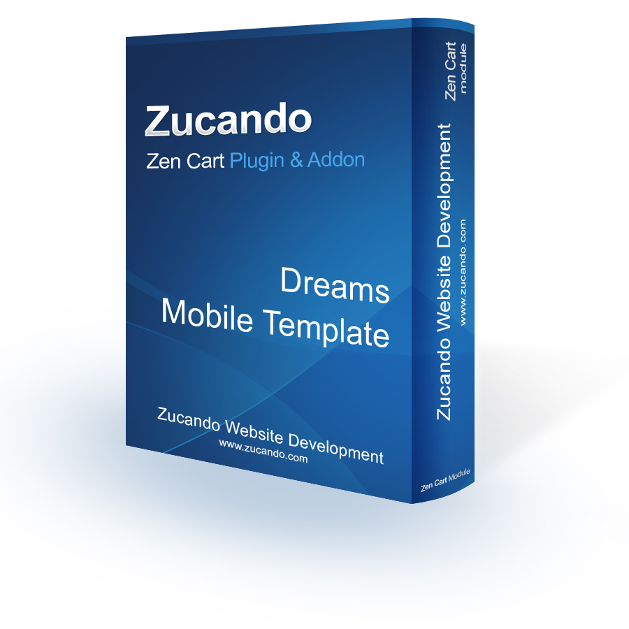 Dreams - Zen Cart Mobile Template
