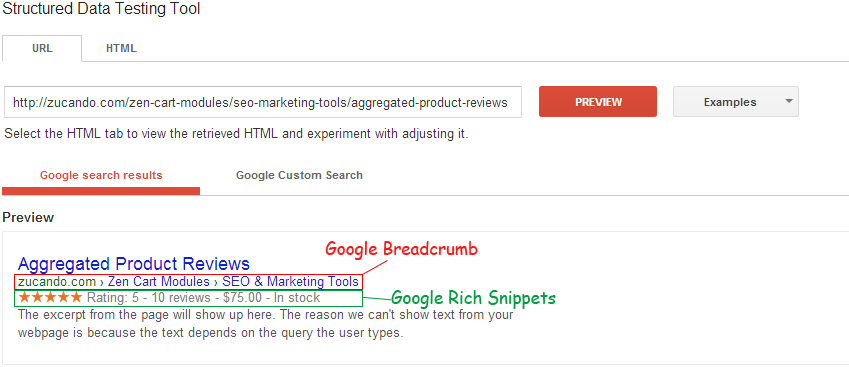 how to set up rich snippets